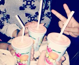 girls, juice, and Kuwait image