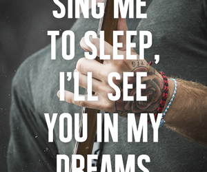 all time low, Lyrics, and Dream image