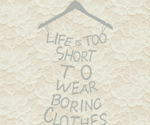 life, clothes, and fashion image