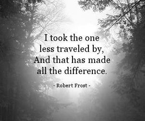 quotes and robert frost image