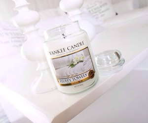 candle, white, and yankee candle image