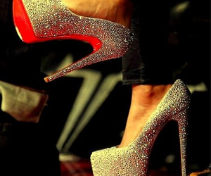 shoes sexy red image