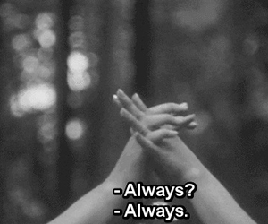 always, love, and forever image