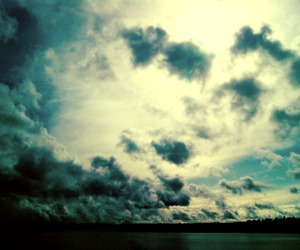 clouds and photography image