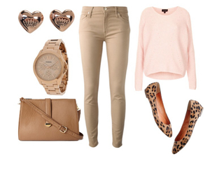 animal print, heart, and style image