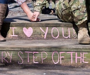 military love, milso, and cute image