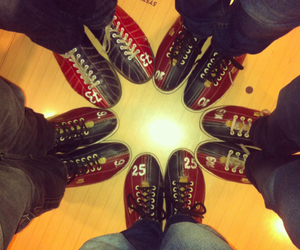 shoes and bowling image