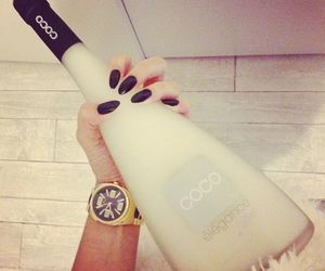 nails, drink, and coco image
