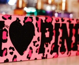 pink, love, and heart image
