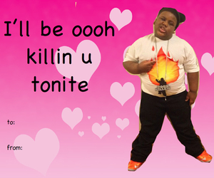 funny, tumblr, and valentines day image