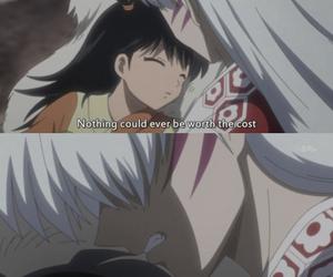 anime, inuyasha, and sesshomaru image