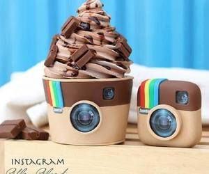 instagram, chocolate, and food image