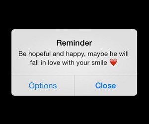 reminder and love image