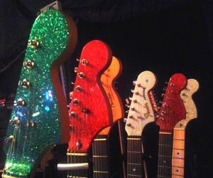 electric, fender, and gibson image