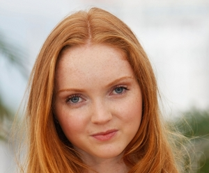 blue eyes, Lily Cole, and red hair image