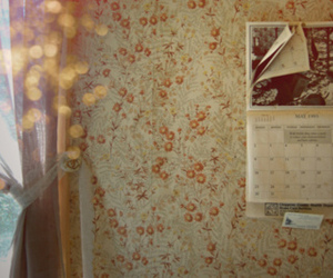 calendar, retro, and misswallflower image
