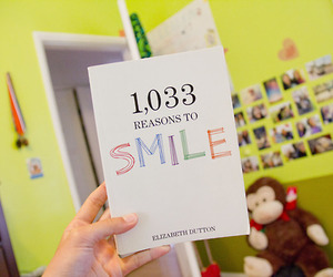 smile, book, and tumblr image