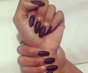 nails and black image