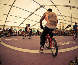 bicycle, cool, and bmx image