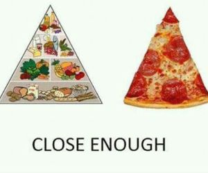 food, lover, and pizza image