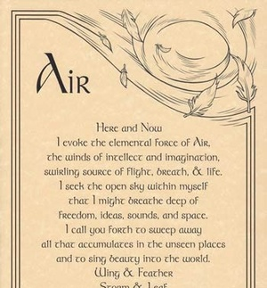 air and wiccan image