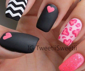 must have, nails, and valentines nails image