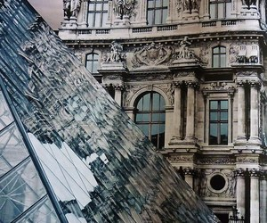 architecture, louvre, and beautiful image