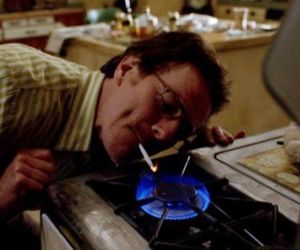 breaking bad, smoking, and cigarette image