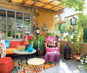 color, garden, and outdoor image