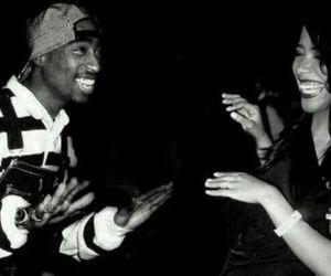 aaliyah, 2pac, and tupac image