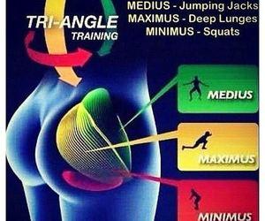 fitness, squats, and jumping jacks image