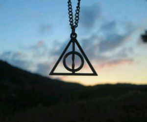 harry potter, potter, and deathly hallows image