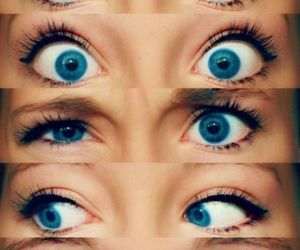 blue eyes and pretty image