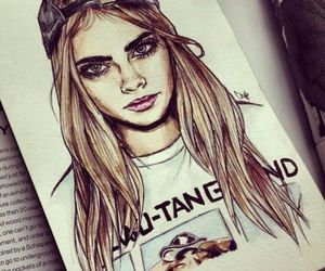 cara, fashion, and girl image