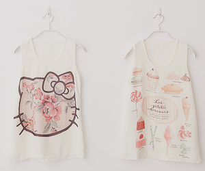 fashion, hello kitty, and cute image