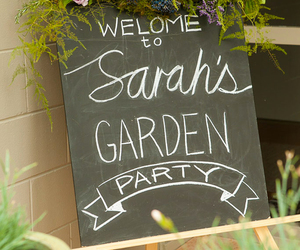 flowers, garden, and garden party image