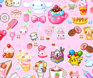 kawaii, cute, and pink image