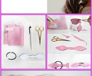 diy, bow, and crafts image