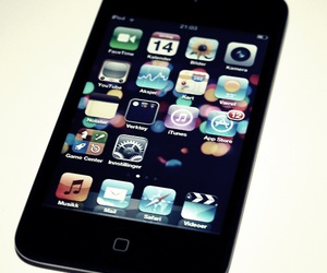 app, apple, and ipod image