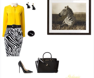 fashion, shoes, and zebra image
