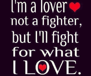 family, fight, and lover image
