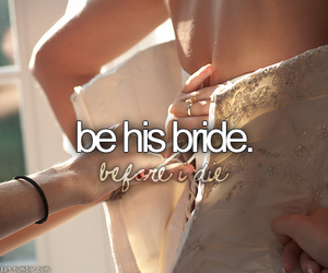 before i die, one day, and wedding image