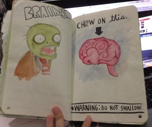 brains, wreck this journal, and keri smith image