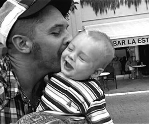 baby, tom hardy, and cute image