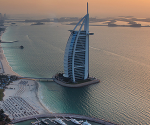 Dubai, city, and luxury image