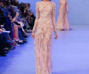 elie saab, model, and fashion image