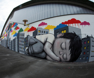 photography and street art image