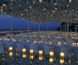 beach, wedding, and decor image