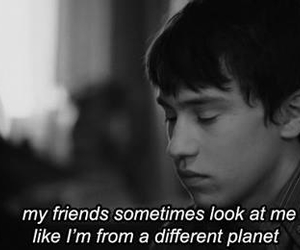 friends, different, and quotes image