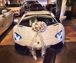 gift, Lamborghini, and luxury image